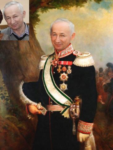 Где заказать исторический портрет по фото на холсте в Тбилиси?