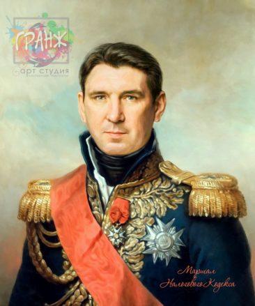 Портрет по фото на холсте в подарок мужчине Тбилиси