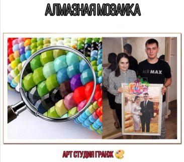 Алмазная мозаика по фото заказать в Тбилиси